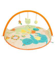 ludi tapis d éveil clic up chat jouet tente anti uv bébé ludi