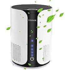 himox luftreiniger h13 hepa filter aktivkohlefilter aromatherapie ionisator air purifier für raucher allergiker gegen staub pollen schimmel