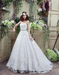 fairy tale ball gown sweetheart lace corset wedding dress with