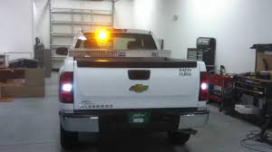 Tri-County PSE Warning Lights Rear Of Truck - YouTube