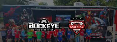 Columbus Ohio Video Game Truck & Laser Tag Party - Buckeye