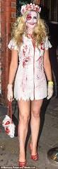 Roxy Hunter And The Horrific Halloween Dvd by Stephanie Waring Arrives At Hollyoaks Halloween Bash Daily Mail