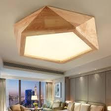 ssby kreative polygon led holzdecke wohnzimmer schlafzimmer