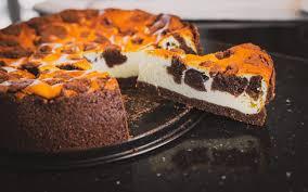 chocolate cheesecake aka russischer zupfkuchen delight baking
