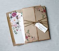 Bohemian Wedding Invitations Will Give You Ideas How To Make Magnificent Invitation 7
