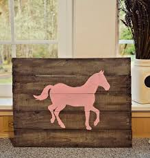 Mason Jars And Lemon Bars DIY Pallet Board Horse Sign