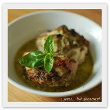 lapin cuisiné lapin au pesto cuisiner tout simplement le de cuisine