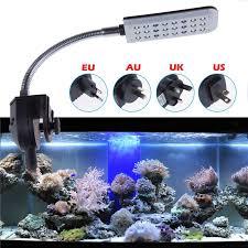 lemonbest 24 leds aquarium l fish tank water plant lighting
