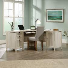 Sauder Harbor View Computer Desk by Amazon Com Sauder Costa L Desk Chc A2 Kitchen U0026 Dining