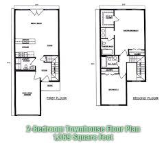 Arthur Rutenberg Floor Plans by 2 Bedroom Townhouse Floor Plans House Plans