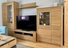 wohnwand schrank sideboard vitrine tv schrank wohnzimmer