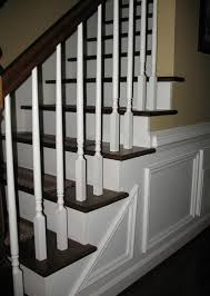 Stair: Elegant Half Turn Staircase Design Ideas With Solid Wood ... Staircase Banister Designs 28 Images Fishing Our Stair Best 25 Modern Railing Ideas On Pinterest Stair Elegant Glass Railing Latest Door Design Banister Wrought Iron Spindles Stylish Home Stairs Design Ideas Wooden Floor Tikspor Staircases Staircase Banisters Uk The Wonderful Prefinished Handrail Decorations Insight Wrought Iron Home Larizza In 47 Decoholic Outdoor White All And Decor 30 Beautiful Stairway Decorating