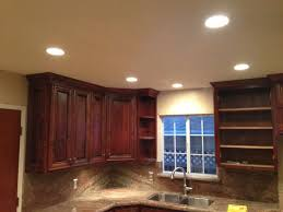 the kitchen led light design recessed lighting for room
