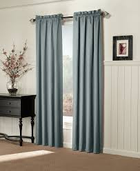 Heat Insulating Curtain Liner by Amazon Com Sun Zero Alec Thermal Lined Microfiber Curtain Panel
