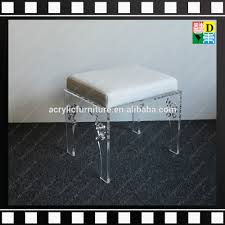 Acrylic Vanity Chair With Wheels by Acrylic Vanity Stool Acrylic Vanity Stool Suppliers And