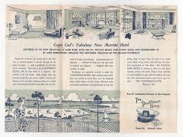 Christmas Tree Shop Sagamore Bridge by Inside Brochure For Yachtsman Hotel Hyannis Cape Cod Ma 1956