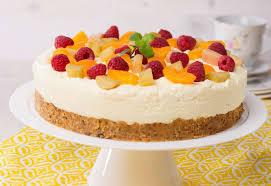 cremig fruchtige torte ohne backen