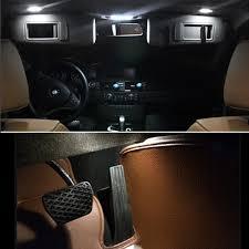error free 14x xenon white smd led bulbs interior package kit for