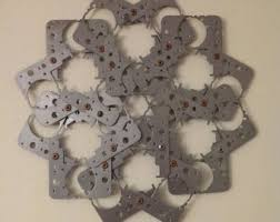 Winsome Industrial Metal Wall Art Deco Gears Large Etsy My Wall Of Life