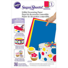 amazon com wilton 710 2912 multipack sugar sheets kitchen dining