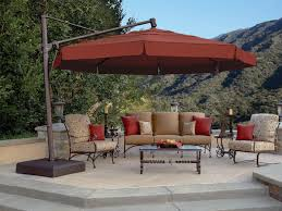 Patio Umbrella With Netting by 13 U0027 Octagon Cantilever Umbrella With Valence Akz13 Dwv V