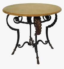 Viyet Wrought Iron Round Pied Dining Table - Coffee Table ...