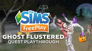 Sims Freeplay Halloween Update 2015 by The Sims Freeplay Ghost Flustered Quest Playthrough Sims Community