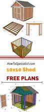6x8 Storage Shed Plans best 25 wood shed plans ideas on pinterest shed blueprints