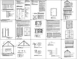 Free 12x16 Gambrel Shed Material List by Shed Plans Vip12 X 16 Shed Plans Free Small Shed Plans From