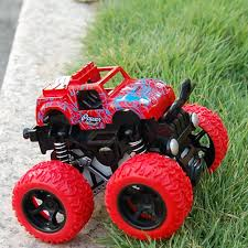 100 Kids Monster Trucks US 305 17 OFF Truck Durable Toys Car Anti Shock 360 Degree Flipping Gift Vehicles Outdoor Inertia Easy Operate Friction Poweredin