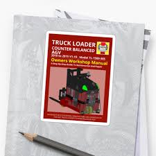 100 Truck Loader 10 Workshop Manual CB AGV Colour Stickers By