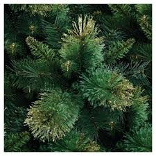 4ft Pre Lit Artificial Christmas Tree Slim Porch Pot Gold Tip Pine