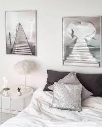 neue poster im schlafzimmer scandiliving whiteho