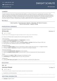 Human Resources Resume: Examples & Complete 2019 Guide [50+ ...