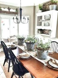 Awesome Farmhouse Dining Room Wall Decor My Ideas For Table Centerpiece With Modern Art Din Style