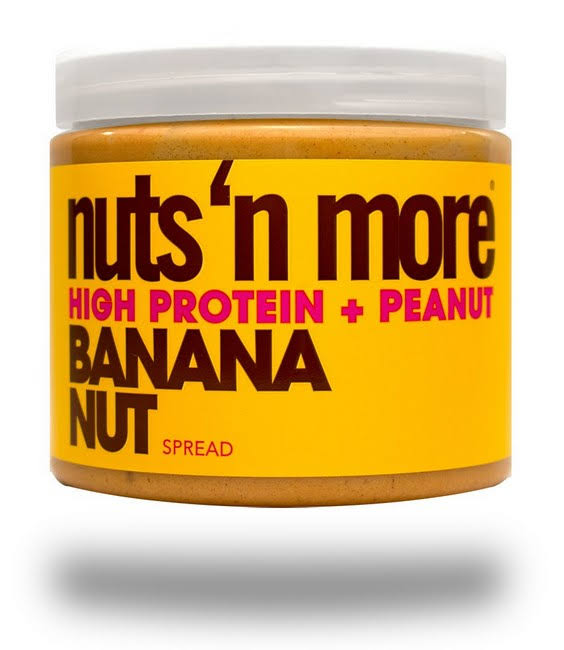 Nuts 'n More Banana Nut Peanut Butter 454g
