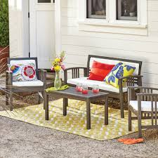 Fred Meyer Patio Furniture Covers by Belize 4 Piece Outdoor Occasional Furniture Set World Market