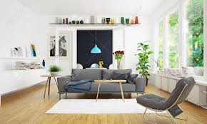modern scandinavian living room design
