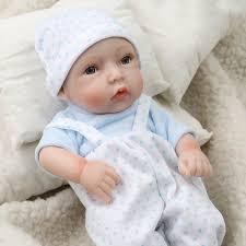 11 Inch 27CM Mini Princess Reborn Doll Toy Handmade Full Silicone