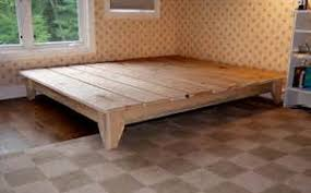 how to build a platform bed video image mag