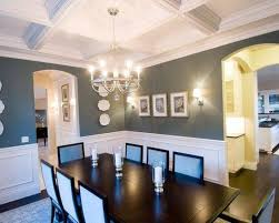 Lovely Dining Room Wall Trim Beautiful Ideas Images Home Design Breathtaking Best Picture Interior Color With Oak In