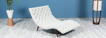 100 Pearsall Chaise Lounge Chair Danish Modern LA Adrian Model 108C