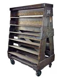 Pallets On Wheels Would Made A Great Rolling Display