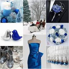 Blue And Silver Wedding Romantic Winter Colors Shades Vponsale