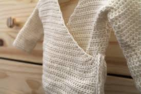 baby kimono sweater pdf crochet pattern newborn kimono wrap