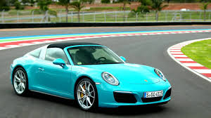 The Only Miami Blue Porsche 911 Targa 4S In America Is For Sale ...