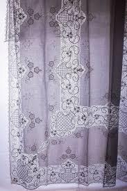 Battenburg Lace Curtains Ecru by Valance Curtain Cotton Handkerchief Bridal Handkerchief