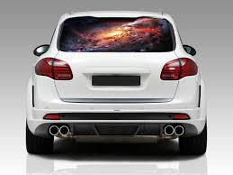 100 Custom Window Decals For Trucks Amazoncom Space Galaxy Nebula Car Rear Decal