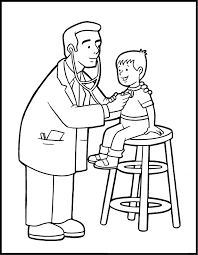 Innovative Doctor Coloring Pages Awesome Learning Ideas