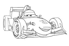 Cars 2 Coloring Pages Free Online Printable
